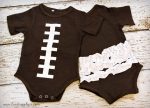 Football Onesies *QUALITY DISCOUNT*